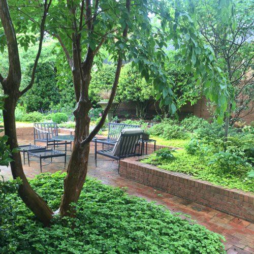 Greensboro Courtyard Garden