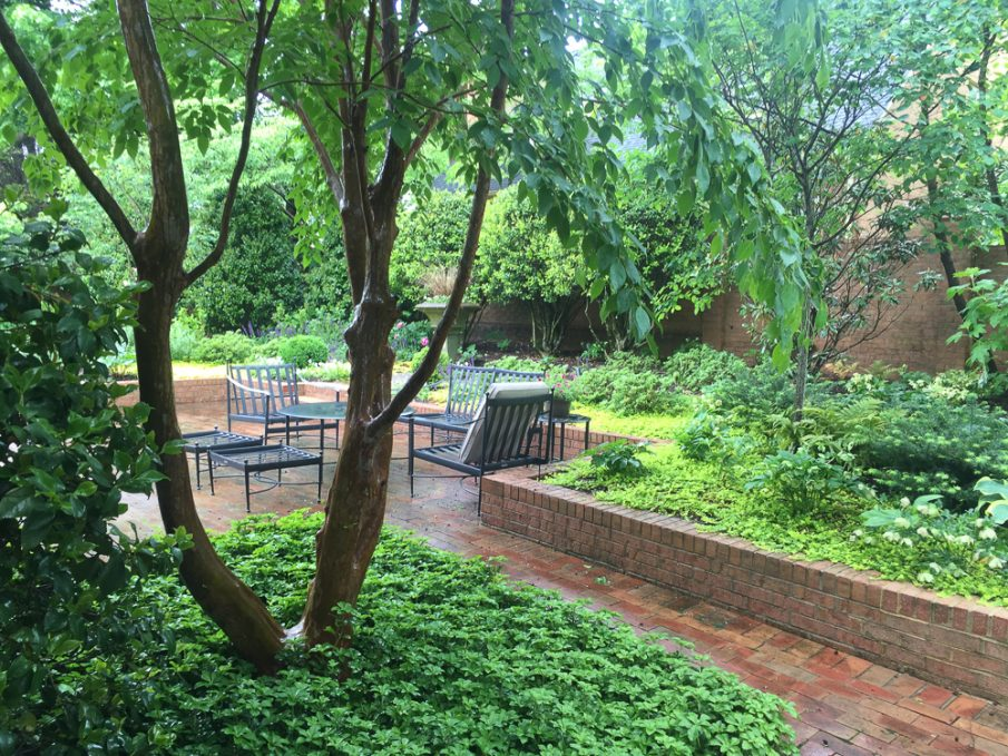 Greensboro Courtyard Garden